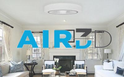 Un ventilateur de plafond… sans pales – AIR 3D