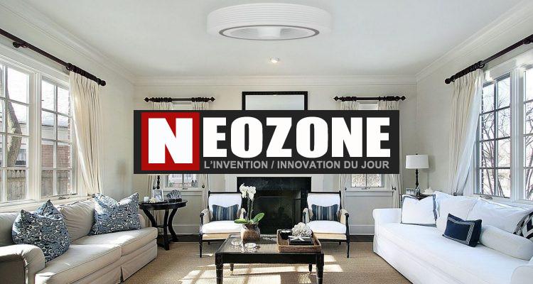 Exhale Gen 4, le ventilateur sans pales qui diffuse l'air à 360°