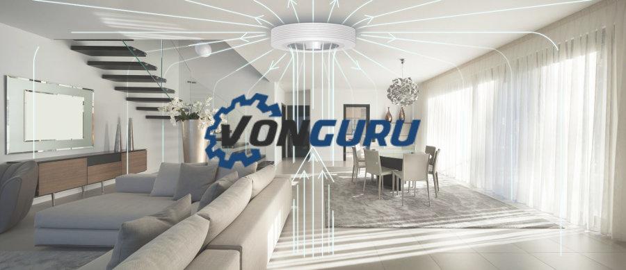 Contre la canicule, essayez le ventilateur de plafond sans pales – Vonguru