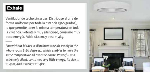 Exhale, ventilador de techo – On Diseño