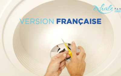 Montage et installation du ventilateur Exhale [Vidéo]