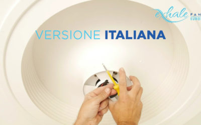 Montaggio e installazione del ventilatore Exhale [Video]