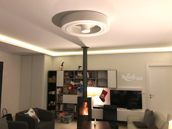 répartition ventilateur - poele à bois - ventilateur