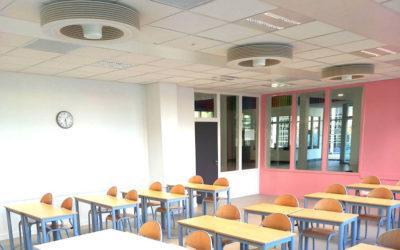 Exhale facilita la transición energética de escuelas y guarderías